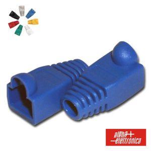 Capa Protectora P/ Conector RJ45 Azul - (94-925BL)