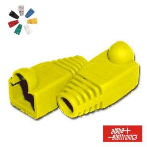 Capa Protectora P/ Conector RJ45 Amarelo - (94-925G)