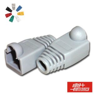 Capa Protectora P/ Conector RJ45 Cinzento - (94-925GR)