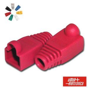 Capa Protectora P/ Conector RJ45 Vermelho - (94-925R)