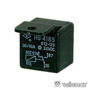 Relé 24Vdc Inversor Unipolar 30a/24V - (960/24)