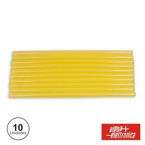 Conjunto De 10 Barras De Cola Quente 11mm Alpha - (98-390/1)