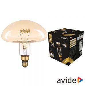Lâmpada Led E27 6W Filamento 2400K 300lm AVIDE - (ABLJFA-6W-MIL)