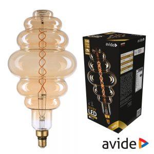 Lâmpada Led E27 8W Filamento 2400K 500lm AVIDE - (ABLJFA-8W-BIX)