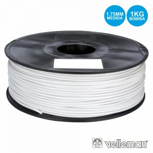 Rolo De Filamento P/ Impressão 3d 1.75mm 1kg Branco - (ABS175W1)