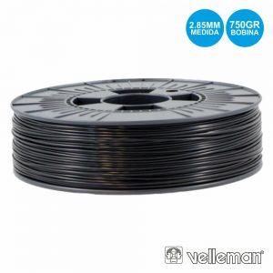Rolo De Filamento P/ Impressão 3d 2.85mm 750g Preto - (ABS285B07)