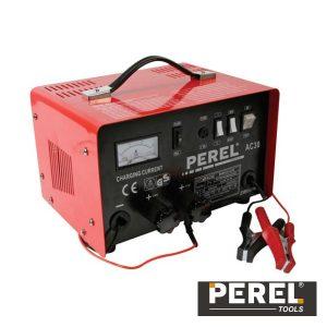 Carregador Baterias Chumbo 12/24V C/ Função Boost 20A Perel - (AC30)