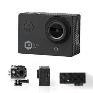 Câmara De Ação Ultra HD 4K Wi-Fi À Prova De água - (ACAM41BK)