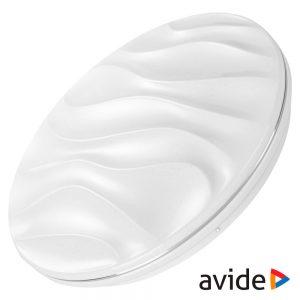 Aplique LED Redondo 24W 380mm 6400K 2200lm Selene AVIDE - (ACLO38CW-24W-SEL)
