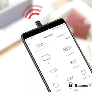 Adaptador Ir P/ Iphone 8p Controlo Remoto TV BASEUS - (ACLR01-S1)