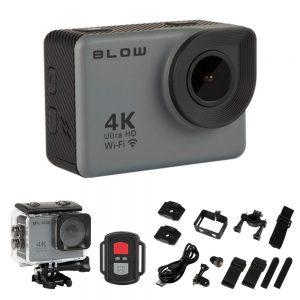 Câmara De Ação / WebCam Ultra HD 4K Wi-Fi À Prova De Água - (ACPRO4U)