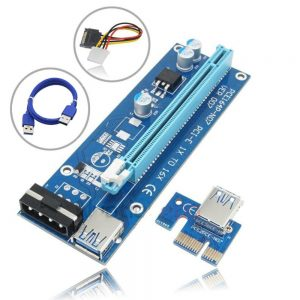 Adaptador PCI-E 1x P/ PCI-E 16x Card Riser P/ Mining - (ADAP-RISER-01)