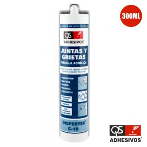 Adesivo Selante Acrílico Branco 300ml Qs - (DISPERTEC-C10)