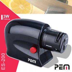 Afiador De Facas P/ 3 Tipos De Lâminas 3W PEM - (ES-200)