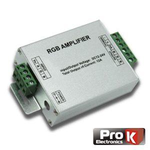 Amplificador P/ Fita LEDS RGB 12V PROK - (AFL01RGB12)