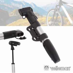 Bomba Manual De Mão P/ Bicicleta 8 Bar VELLEMAN - (AFMHP)