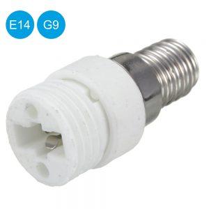 Casquilho Adaptador De E14 P/ G9 - (AG-955)