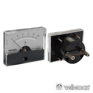 Amperímetro De Painel 10a VELLEMAN - (AIM6010A)