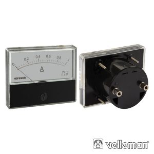 Amperímetro De Painel 1A DC VELLEMAN - (AIM701000)
