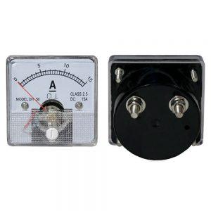 Amperímetro Analógico De Painel 15A DC - (AIM7015AP)