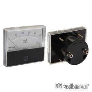 Amperímetro De Painel 50ma DC VELLEMAN - (AIM7050)