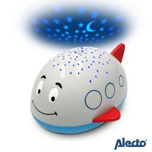 Avião Projetor LED ALECTO - (AIRPLANE EDDY)