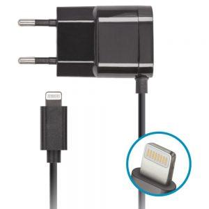 Alimentador Compacto Comutado P/ Iphone 5/6 5v 1A - (ACUSBL010)