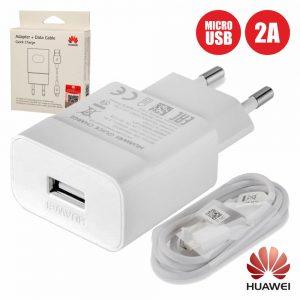 Alimentador Compacto + Cabo USB-B 5v 2a Branco HUAWEI - (AP32USB-B)