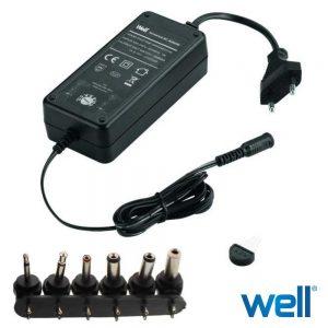 Alimentador Switching 6 Fichas Universal 5V-12V 3A - (PSUP-SMP-3000MA)