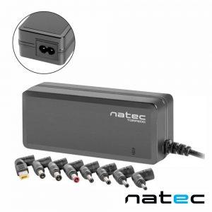 Alimentador Switching 18.5-20V 65W 8 Fichas NATEC - (NZU-0990)
