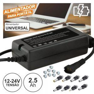 Alimentador Compacto Comutado 12-24V 2.5a 39W - (ALM071)
