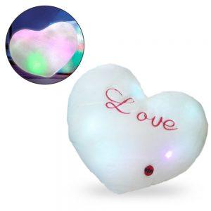 Almofada Forma de Coração C/ Luz LED - (INVGA191)