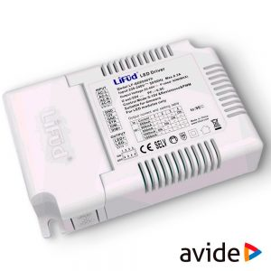 Regulador Luz Dimmer P/ Painel LED 42W AVIDE - (ALP-DDRVR45)