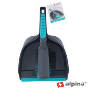Conjunto De Pá De Lixo C/ Vassoura Alpina - (ALP277)