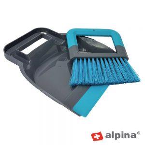 Conjunto De Pá De Lixo C/ Vassoura Alpina - (ALP285)