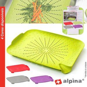 Coador De Pia Plano 34x27cm Alpina - (ALP777)