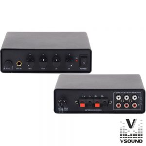 Amplificador Stereo 2x25W VSOUND - (VSPA50ST)