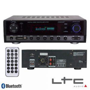 Amplificador Stereo Hifi 2x50W USB/FM/BT/SD Ltc - (ATM6500BT)