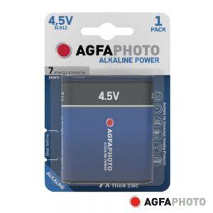 Pilha Alcalina 3LR12/4.5V 4.5V 1x Blister POWER AGFAPHOTO - (APA4.5V)