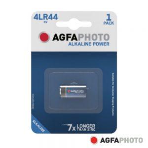 Pilha Alcalina 4LR44 6V 1x Blister POWER AGFAPHOTO - (APA4LR44)