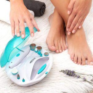 Aparelho P/ Manicure E Pedicure C/ Bateria E Acessórios - (INVG098)