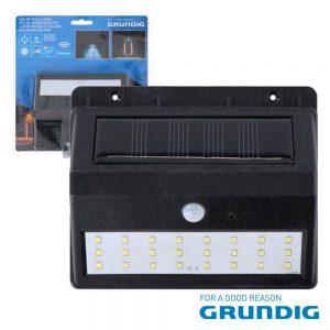 Aplique Exterior Solar C/ Sensor 30lm Grundig - (08252)