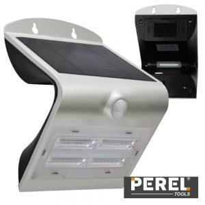 Aplique Exterior Solar C/ Sensor 3.2W 400lm Branco VELLEMAN - (CSOLBDF)