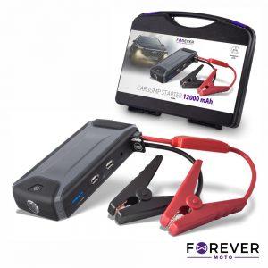 Arrancador De Baterias Auto 200A C/ 2 USB e Lanterna LED - (JS-200)