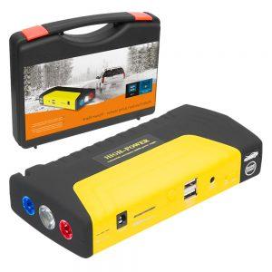 Arrancador De Baterias Auto 400A C/ 2 USB - (JS-15)