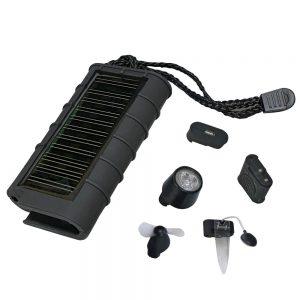 Carregador Solar 600ma 6em1 C/ Painel Solar A-Solar - (AS102)