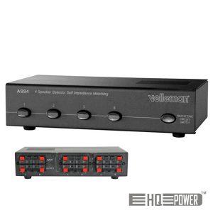 Comutador P/ Caixas Acústicas HQ POWER - (ASS4)
