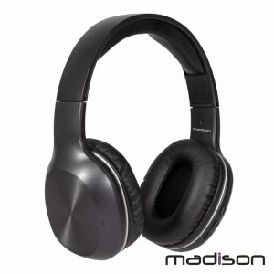 Auscultadores Bluetooth S/ Fios Bat Cancel. Ruídos Madison - (MAD-HNB100)