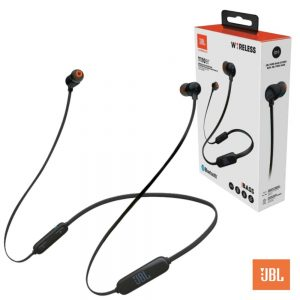 Auriculares Bluetooth V4.0 Pure Bass Bat Pretos Jbl - (JBLT110BTBLK)