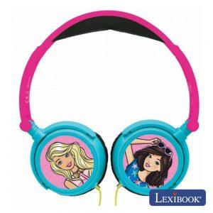 Auscultadores C/ Fios Stereo Barbie Lexibook - (HP010BB)